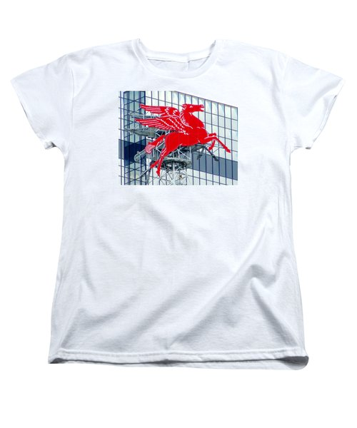 Pegasus Women's T-Shirt (Standard Cut) by Charlie and Norma Brock