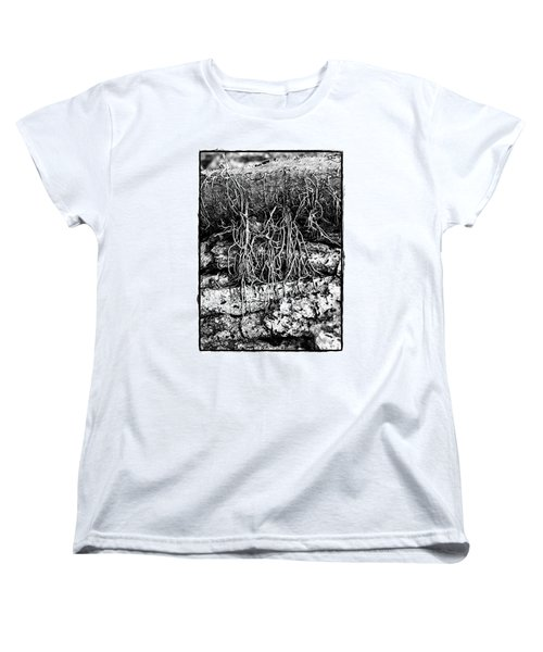 Poison Ivy Roots Women's T-Shirt (Standard Cut) by Judi Bagwell
