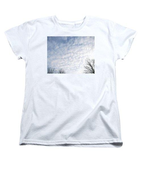 Women's T-Shirt (Standard Cut) featuring the photograph Reaching The Clouds by Pamela Hyde Wilson