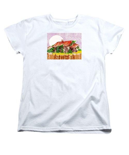Ready To Fall In Women's T-Shirt (Standard Cut) by Seth Weaver
