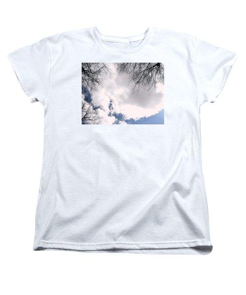 Women's T-Shirt (Standard Cut) featuring the photograph River In The Sky by Pamela Hyde Wilson