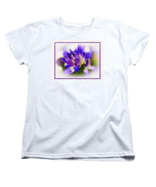 Royal Purple Women's T-Shirt (Standard Cut) by Judi Bagwell