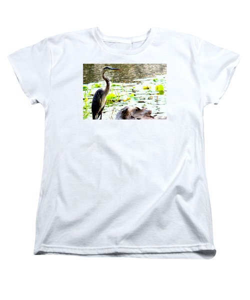Women's T-Shirt (Standard Cut) featuring the photograph Silent Solitude by Kathy  White
