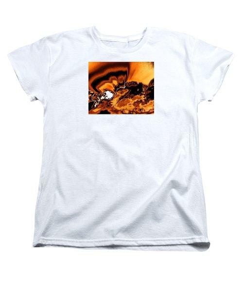 Solar Flare Women's T-Shirt (Standard Cut) by Rebecca Margraf