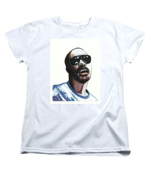 Stevie Wonder Women's T-Shirt (Standard Cut)