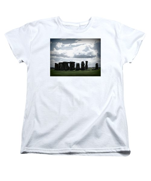 Stonehenge Women's T-Shirt (Standard Cut) by Ian Kowalski