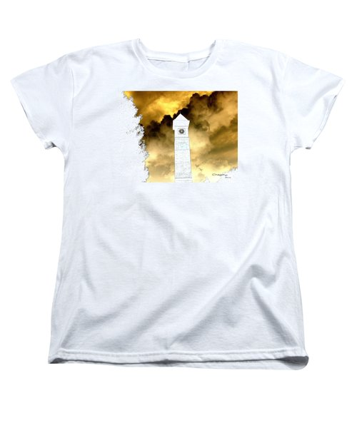 Women's T-Shirt (Standard Cut) featuring the photograph Storm Clouds by Greg Moores