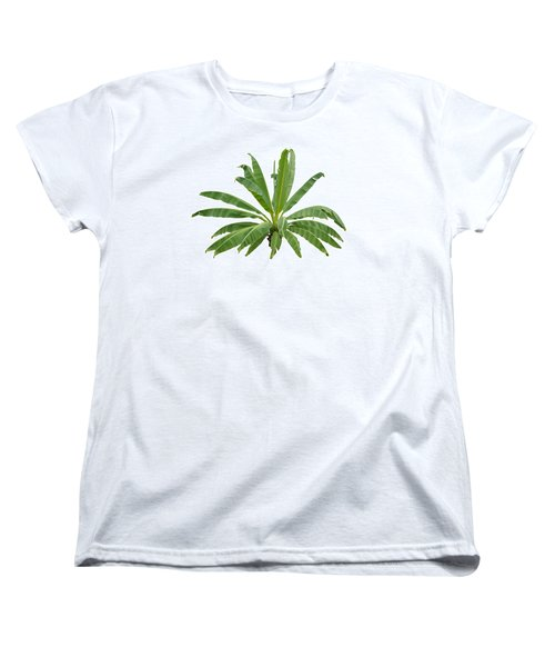 Strange Banana Tree Women's T-Shirt (Standard Cut) by Atiketta Sangasaeng