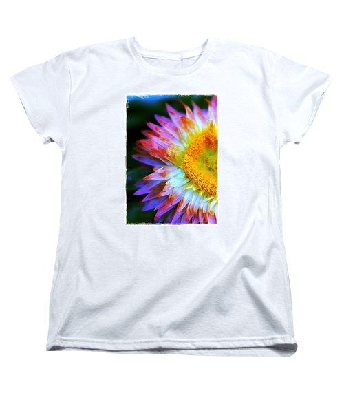 Strawflower Women's T-Shirt (Standard Cut) by Judi Bagwell