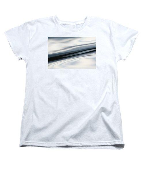 Women's T-Shirt (Standard Cut) featuring the photograph Streak Of Blue by Cathie Douglas