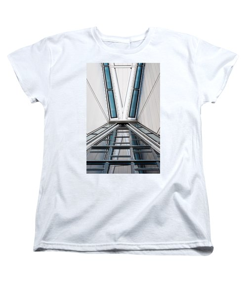 Structure Reflections Women's T-Shirt (Standard Cut) by Colleen Coccia