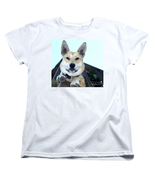 Women's T-Shirt (Standard Cut) featuring the photograph Sunny by Rory Sagner
