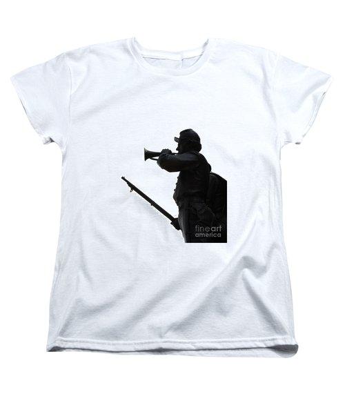 The Bugler Women's T-Shirt (Standard Cut) by Cindy Manero