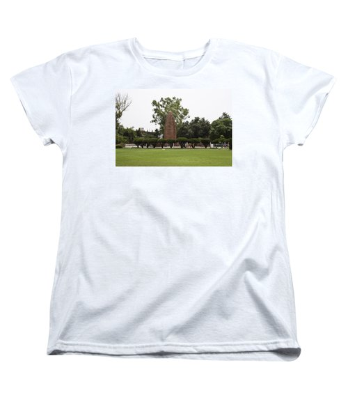 Women's T-Shirt (Standard Cut) featuring the photograph The Jallianwala Bagh Memorial In Amritsar by Ashish Agarwal