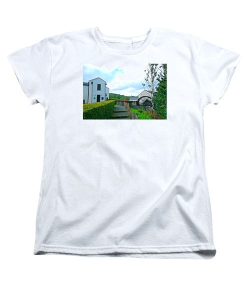Women's T-Shirt (Standard Cut) featuring the photograph The Mill by Charlie and Norma Brock