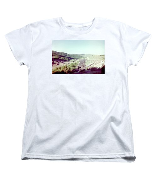 Women's T-Shirt (Standard Cut) featuring the photograph The Mine by Bonfire Photography