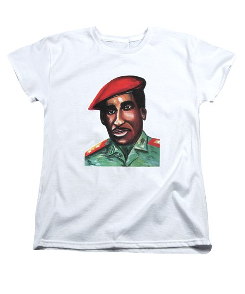 Thomas Sankara Women's T-Shirt (Standard Cut)