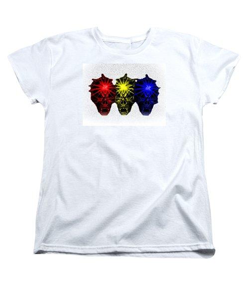 Women's T-Shirt (Standard Cut) featuring the photograph Three Skulls by Blair Stuart