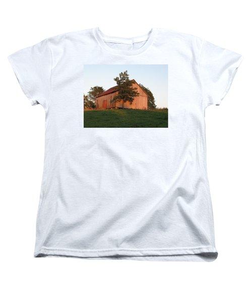 Tobacco Barn II In Color Women's T-Shirt (Standard Cut) by JD Grimes