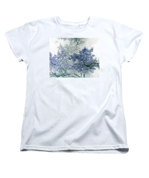 Trees Above Women's T-Shirt (Standard Cut) by Rebecca Margraf