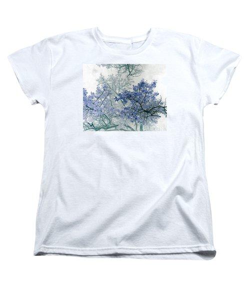 Trees Above Women's T-Shirt (Standard Cut)