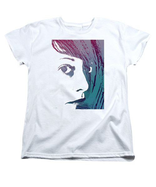 Women's T-Shirt (Standard Cut) featuring the photograph True Colors by Lauren Radke