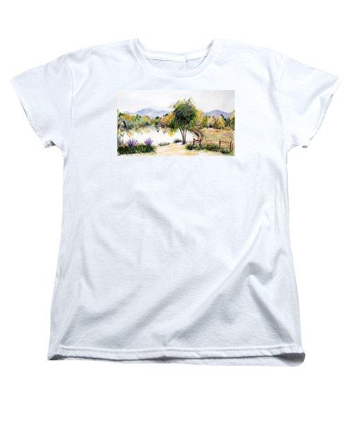 View Outside Reno Women's T-Shirt (Standard Cut) by Vicki  Housel