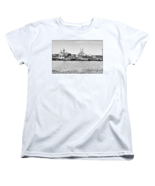 Waiting Women's T-Shirt (Standard Cut) by Eunice Gibb
