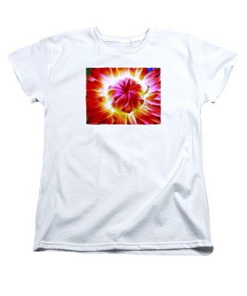 Whirling Women's T-Shirt (Standard Cut) by Judi Bagwell