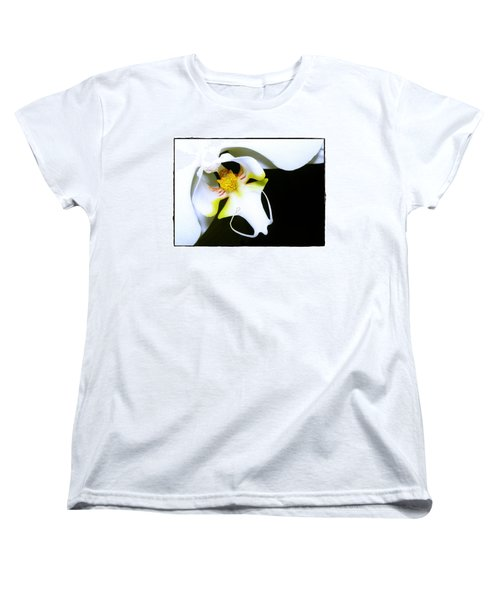 White Elegance Women's T-Shirt (Standard Cut) by Judi Bagwell