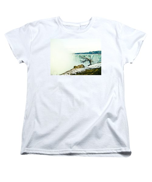 Women's T-Shirt (Standard Cut) featuring the photograph Wonder by Sara Frank