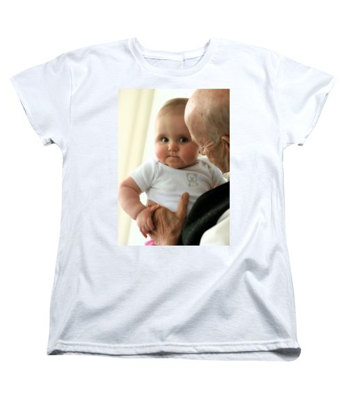 Young And Old Women's T-Shirt (Standard Cut) by Angela Rath