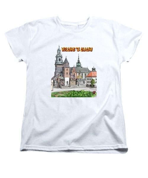 Cracow.world Youth Day In 2016. Women's T-Shirt (Standard Cut) by Andrzej Szczerski