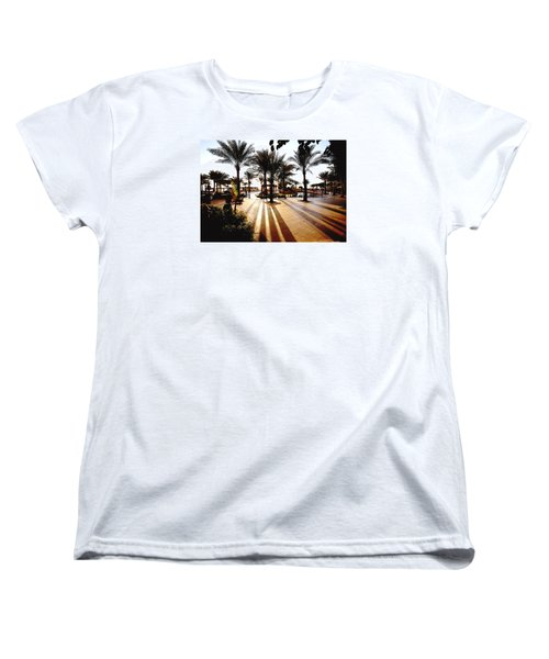 Women's T-Shirt (Standard Cut) featuring the photograph  Silhouettes by Marwan Khoury