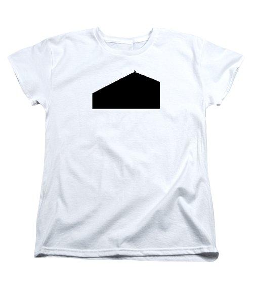 Women's T-Shirt (Standard Cut) featuring the photograph  Unchained  by Prakash Ghai
