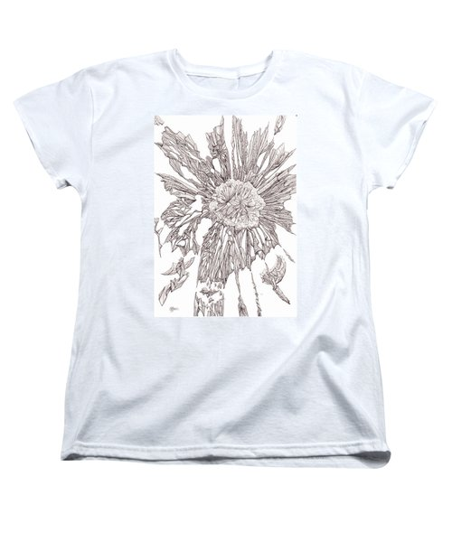 Breaking Free.    0111-1 Women's T-Shirt (Standard Cut) by Charles Cater