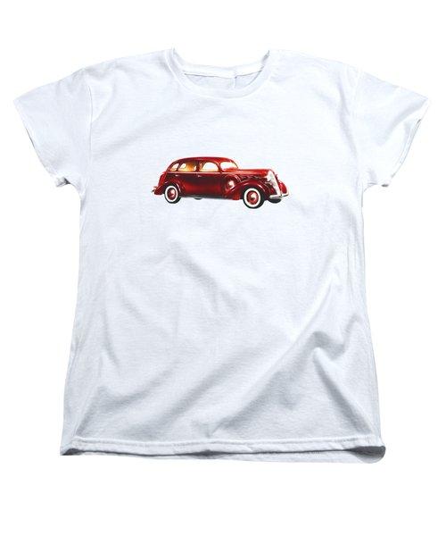 1937 Graham Supercharger Women's T-Shirt (Standard Cut) by John Haldane