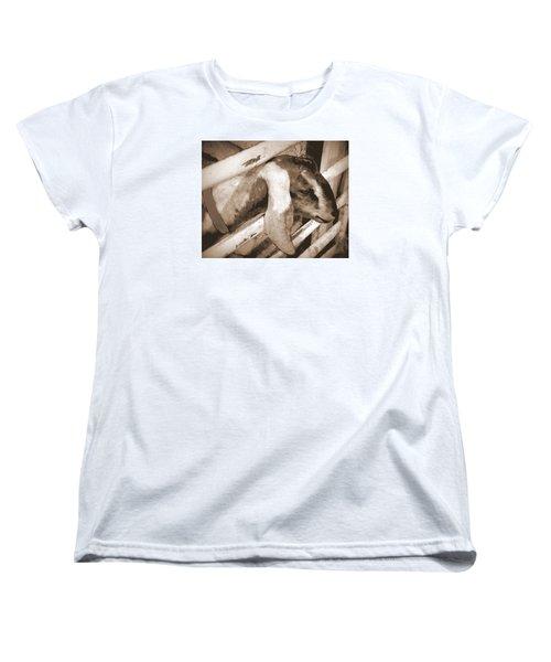 A Friend Women's T-Shirt (Standard Cut) by Jodie Marie Anne Richardson Traugott          aka jm-ART