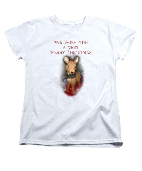 A Very Merry Christmas Women's T-Shirt (Standard Cut)