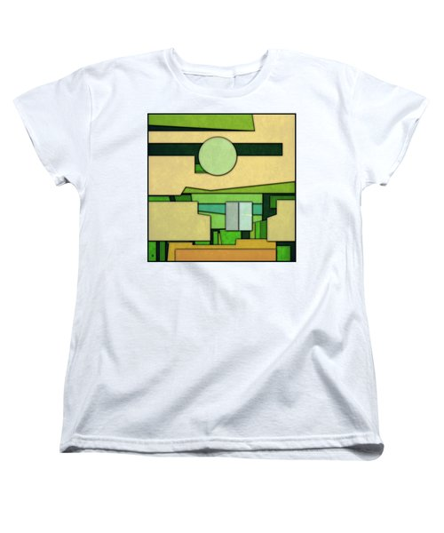 Abstract Cubist Women's T-Shirt (Standard Cut)