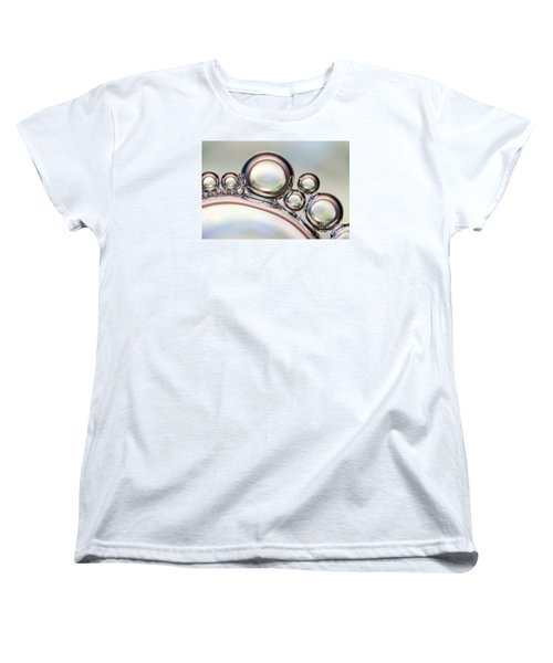 Air Bubbles Women's T-Shirt (Standard Cut) by Odon Czintos