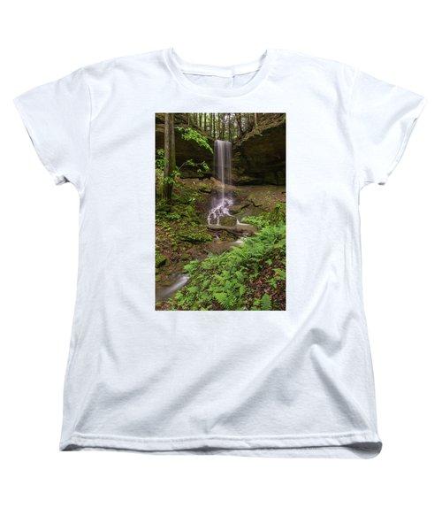 Alcorn Falls. Women's T-Shirt (Standard Cut)