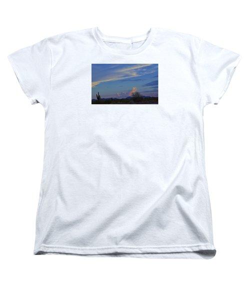 Women's T-Shirt (Standard Cut) featuring the photograph Arizona Desert by Helen Haw