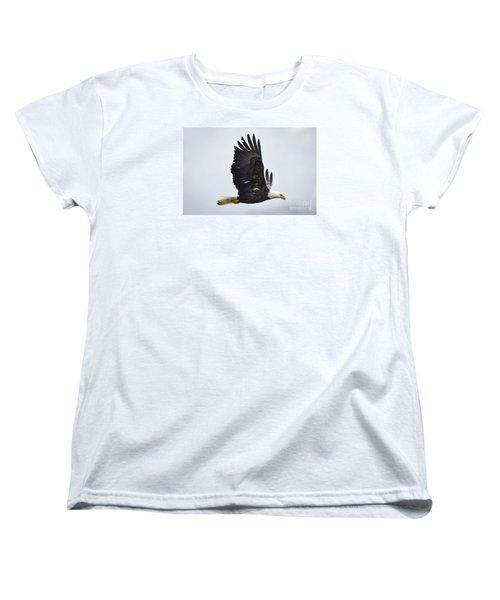 Women's T-Shirt (Standard Cut) featuring the photograph Bald Eagle by Ricky L Jones