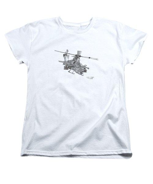 Bell Ah-1z Viper Women's T-Shirt (Standard Cut) by Arthur Eggers