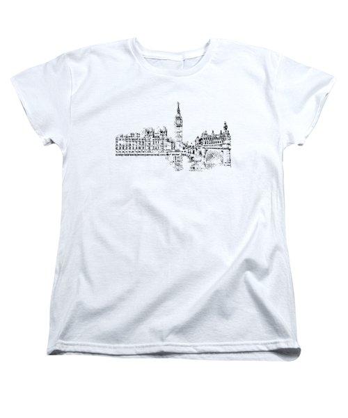 Big Ben Women's T-Shirt (Standard Cut) by ISAW Gallery