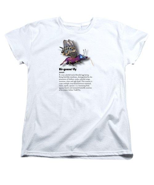 Birguanafly Women's T-Shirt (Standard Cut) by Arthur Fix