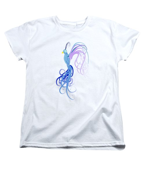 Blu Women's T-Shirt (Standard Cut) by Diq