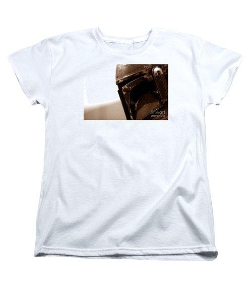 Women's T-Shirt (Standard Cut) featuring the photograph Boba Fett Helmet 33 by Micah May