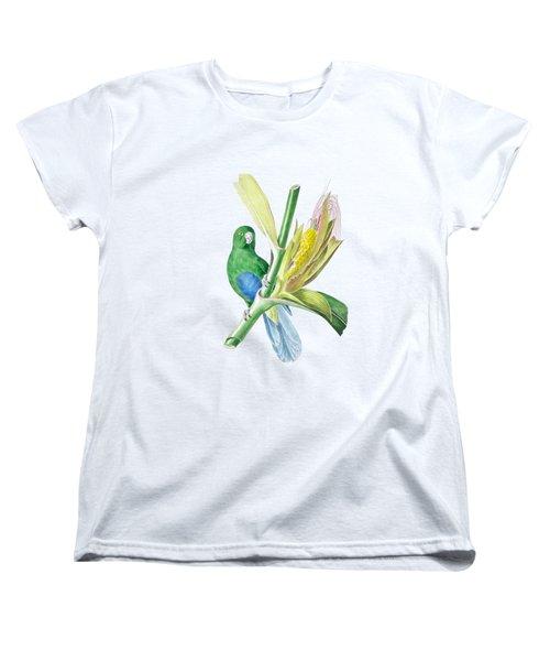 Brazilian Parrot Women's T-Shirt (Standard Cut) by Philip Ralley